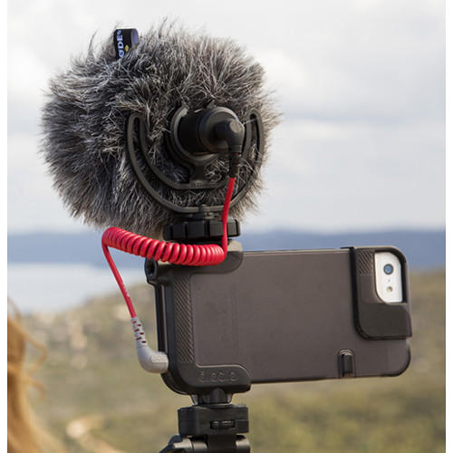 Protetor de Vento Rode DeadCat WS9 para Microfone RODE VideoMicro e VideoMic ME