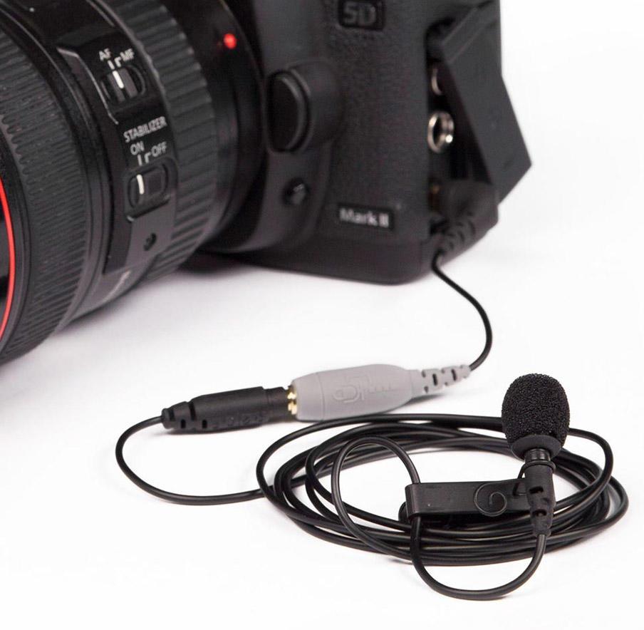 Adaptador Rode SC3 de 3.5mm TRRs para TRS de Microfone de Lapela Rode SmartLav