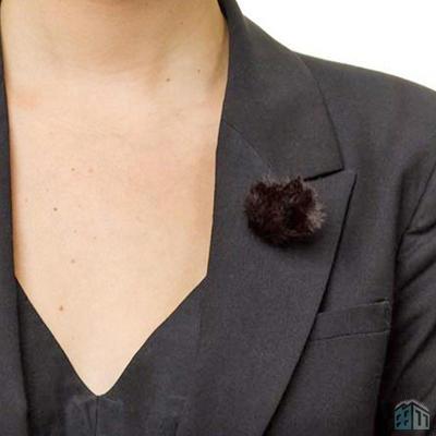 Protetor de Vento Rode Deadmouse-Pin para Microfone Lapela PinMic