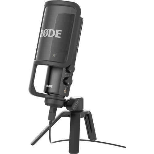 Microfone Rode NT-USB para Estúdio