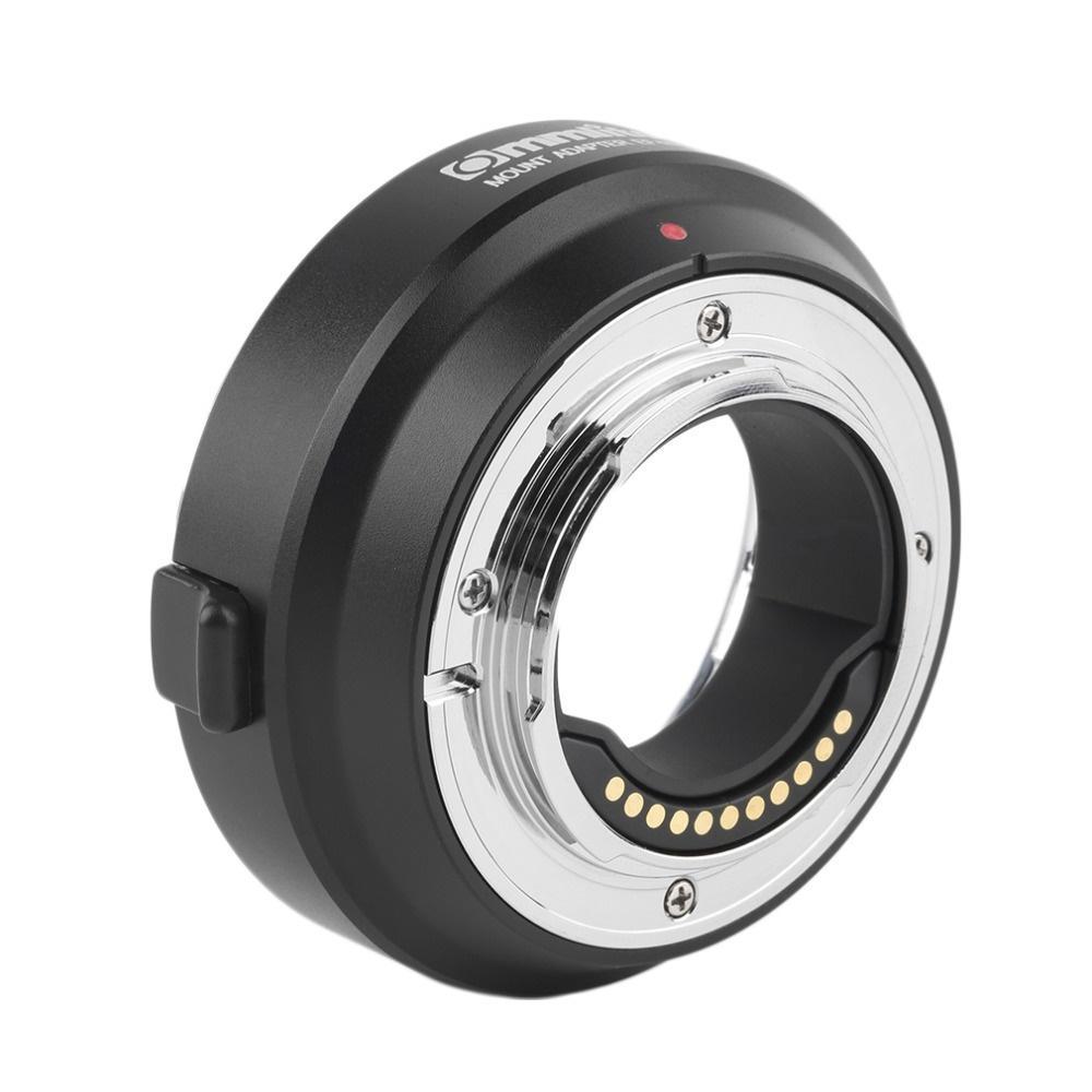 Adaptador Eletrônico Comix de Lente Canon EF e EF-S para Montagem M4/3 (CM-EF-MFT)