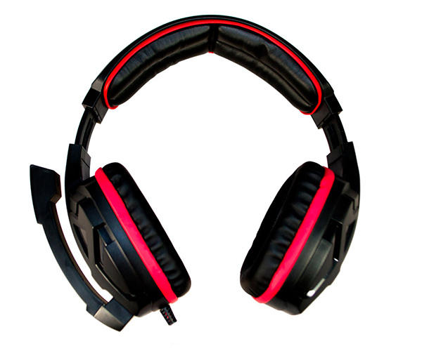 Headset Gamer Valkyrie 7.1 Surround Multimídia USB