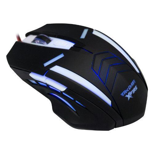 Mouse Gamer Shinigami com 3200 DPI com 7 Botões (Azul)
