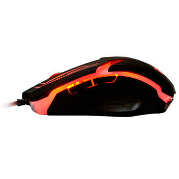 Mouse Gamer WuXi com 3200 DPI com 7 Botões (Vermelho)