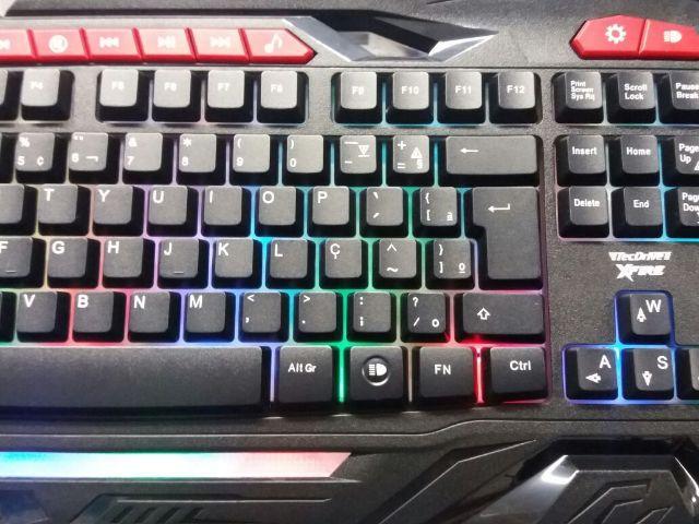 Teclado Gamer XFire Bifrost USB