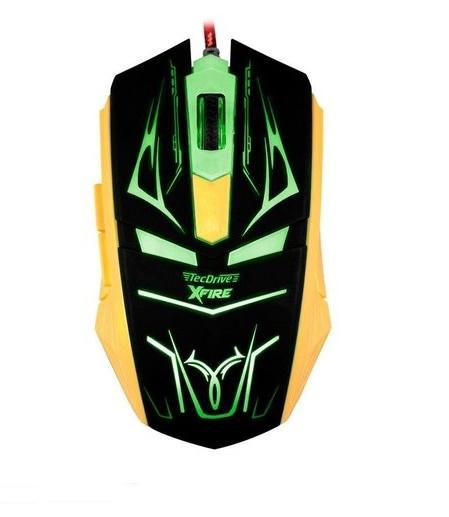 Mouse Gamer Neith de 3200 DPI com 7 Botões (Verde)