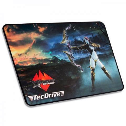 Mousepad Gamer TecDrive XFire Caçadora Elfa