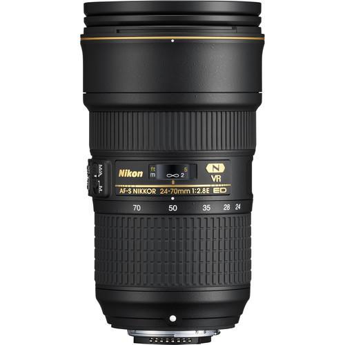 Lente Nikon AF-S NIKKOR 24-70mm f/2.8E ED VR Nano Cristais
