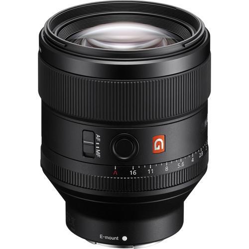 Lente Sony FE 85mm f/1.4 GM E-Mount (SEL85F14GM)