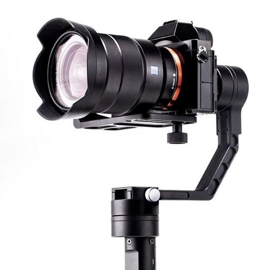Estabilizador Inteligente Gyro Movie com 3 Eixos para Câmeras DSLR e Mirrorless