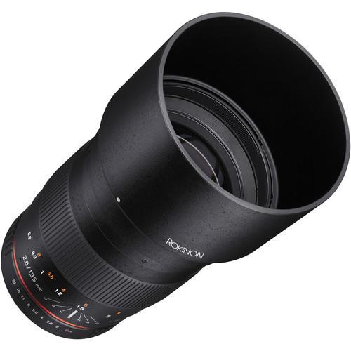 Lente Rokinon 135mm f/2.0 ED UMC para Canon EF