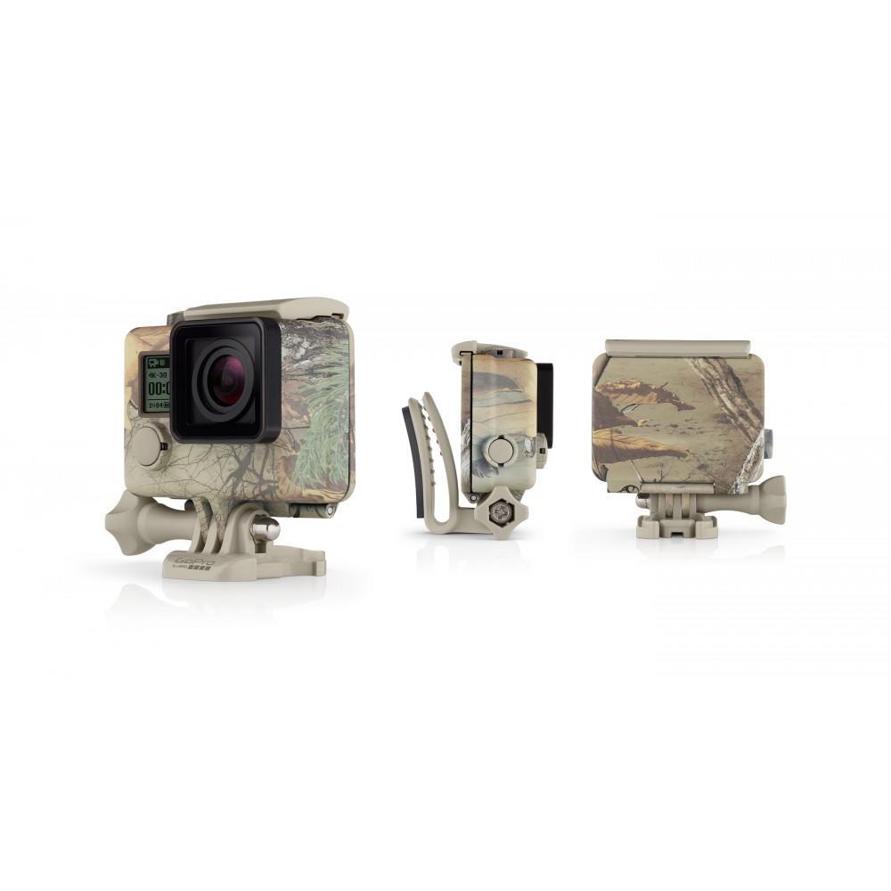 Caixa Camuflada Camo Xtra com Quickclip para Câmeras GoPro (AHCSH-001)