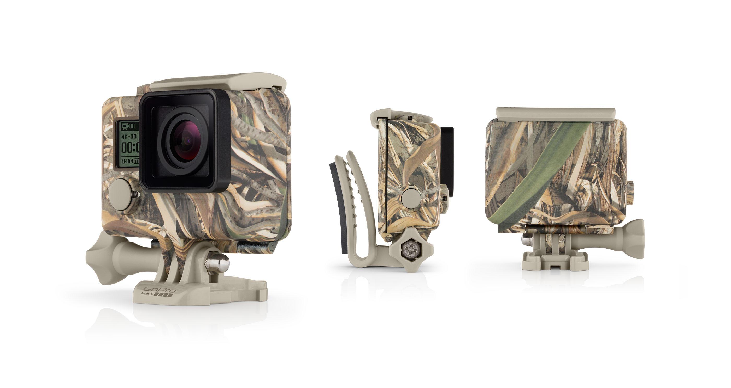 Caixa Estanque Camo Camuflada com Quickclip MAX-5 para GoPro