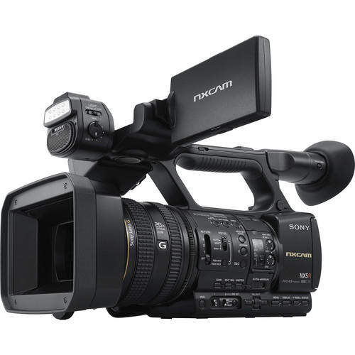 Filmadora Sony NXCAM HXR-NX5R Full HD com LED Light