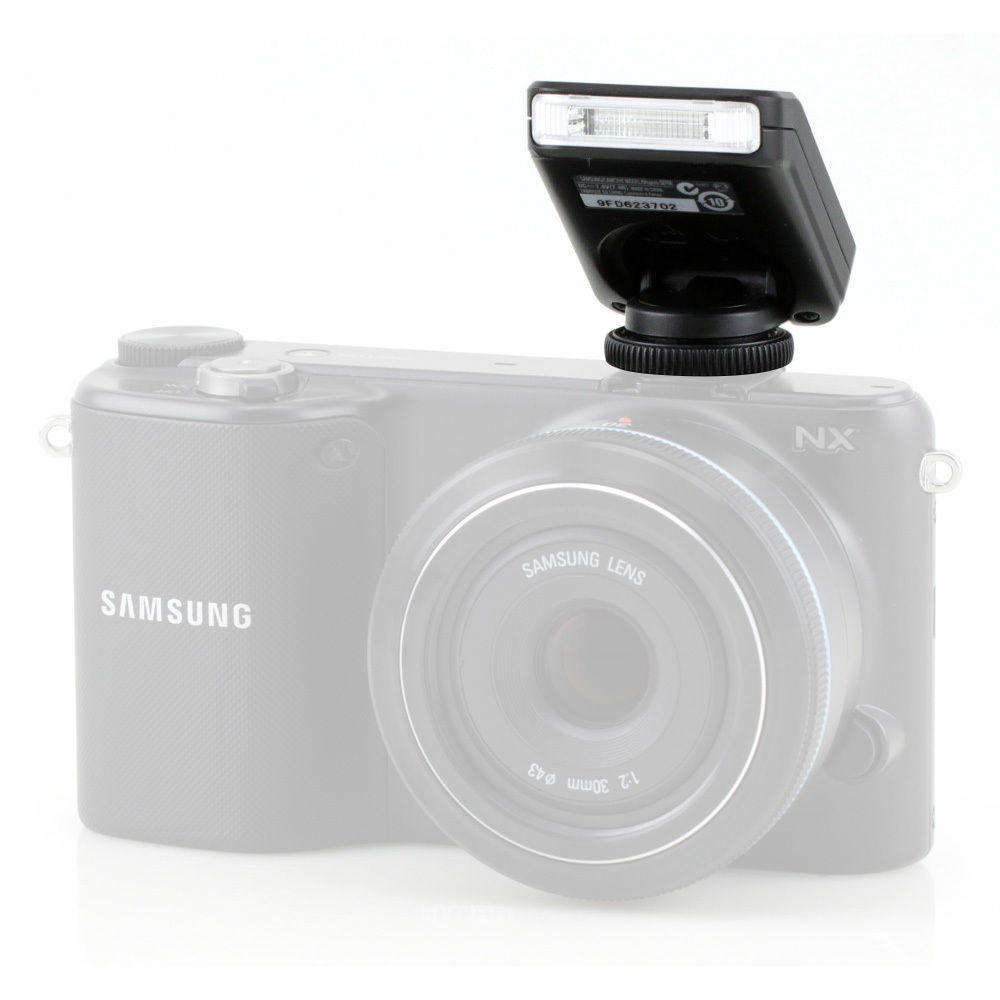 Flash Samsung SEF8A para Samsung NX200, NX210, NX1000 (Preto)