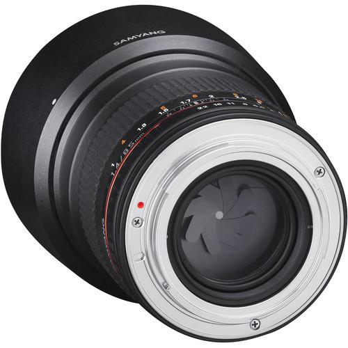 Lente Rokinon 85mm f/1.4 ED AS UMC para Canon