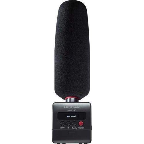 Gravador Digital Tascam DR-10SG Microfone Shotgun